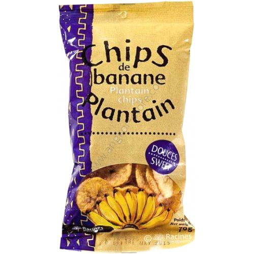 CHIPS DE BANANE PLANTAIN DOUCE