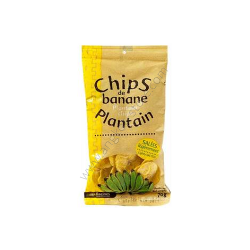CHIPS DE BANANE PLANTAIN SALEE