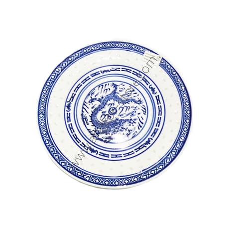 ASSIETTE PLATE BLEUE 20 30 CM 8 POUCES