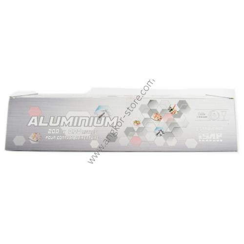 PAPIER ALUMINIUM 30 CM X 200 METRES