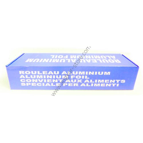PAPIER ALUMINIUM 33 CM X 200 METRES