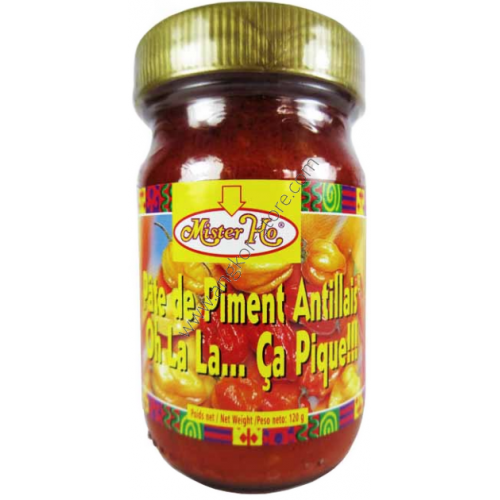 PATE DE PIMENT ANTILLAIS ROUGE