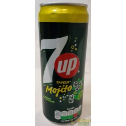 BOISSON 7 UP MOJITO - 0.33L