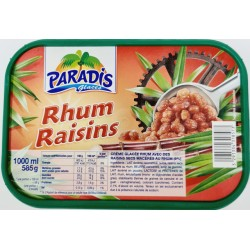 GLACE RHUM RAISINS - 1L